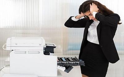 Những lỗi thường gặp khi sử dụng máy in