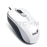 Chuột quang có dây DX-110, giao tiếp USB (Màu trắng)