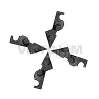 Cò tách giấy rulo sấy máy photo Sharp AR200/201/205/206/207/5316/5320 (4c/b) (CET8256)