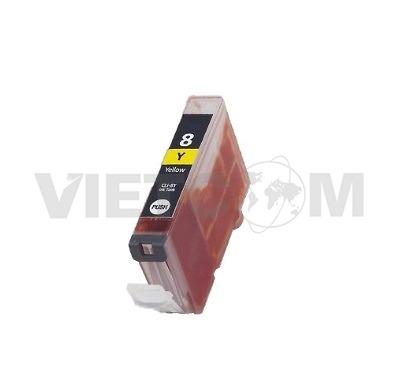 Hộp mực Canon CLI-8Y-  PIXMA iP3300,iP4200,iP4300,iP4500,iP5200,iP5200R,iP5300, iX4000,Ix5000,MP800,MP800R,MP810