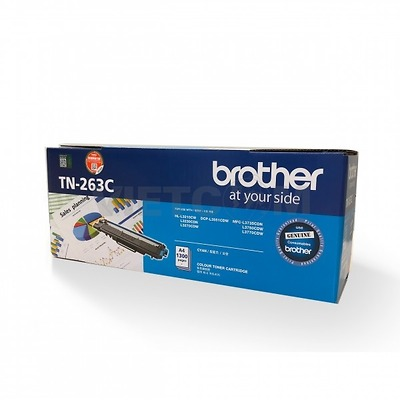 Hộp mực Brother TN-263/267(Cyan), HL-L3230CDN/L3270CDW/3551CDW/L3750CDW/L3770CDW