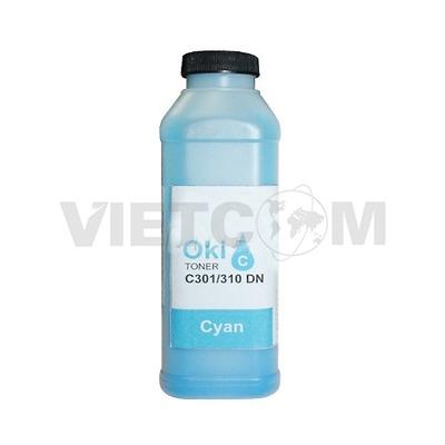 Mực chai OKI C301/C321dn/C310dn/C330/MC360 (Màu Xanh)