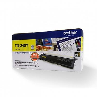 Mực màu TN-240Y cho máy HL- 3040CN/ DCP-9010CN / MFC-9120CN/ 9320CW (Cyan/ Magenta/ Yellow) - 1.400 trang