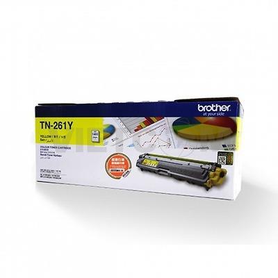 Mực màu TN-261Y cho máy  HL-3150CDN/ HL-3170CDW/ MFC-9140CDN/ MFC-9330CDW  (Cyan/ Magenta/Yellow)- 1.400 trang