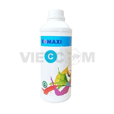 Mực Pigment UV 1Lit for máy in Epson T60/1390/230/290 (C)