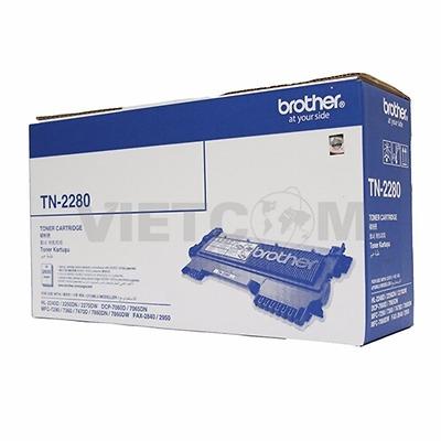 Mực TN-2280 cho máy HL-2240D/ 2250DN/ 2270DW/D CP-7060D/ MFC-7360D/ MFC-7470D/ MFC-7860DW