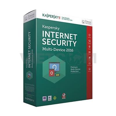 Phần mềm diệt Virus Kaspersky Internet Security - 3pc (Kis 3u)
