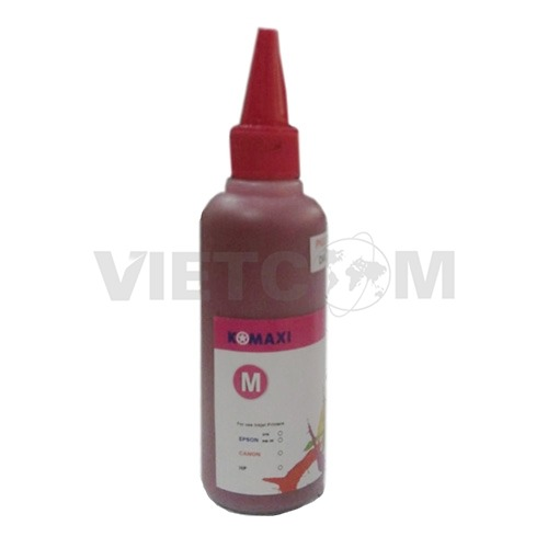 Mực Pigment UV 100lm for máy in Epson T60/1390/230/290 (Magenta)