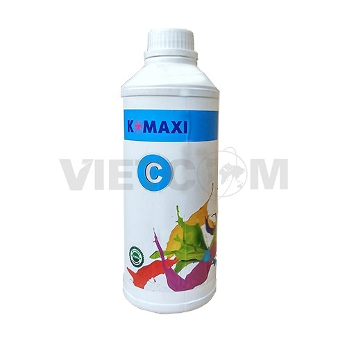 Mực Pigment UV 500lm for máy in Epson T60/1390/230/290 (Cyan)