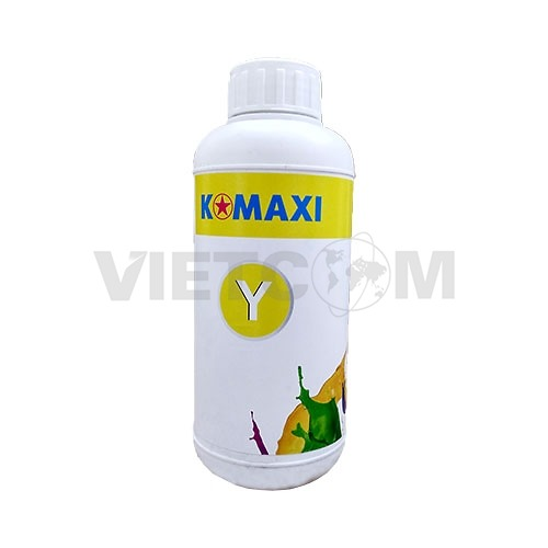 Mực Pigment UV 500lm for máy in Epson T60/1390/230/290 (Yellow)
